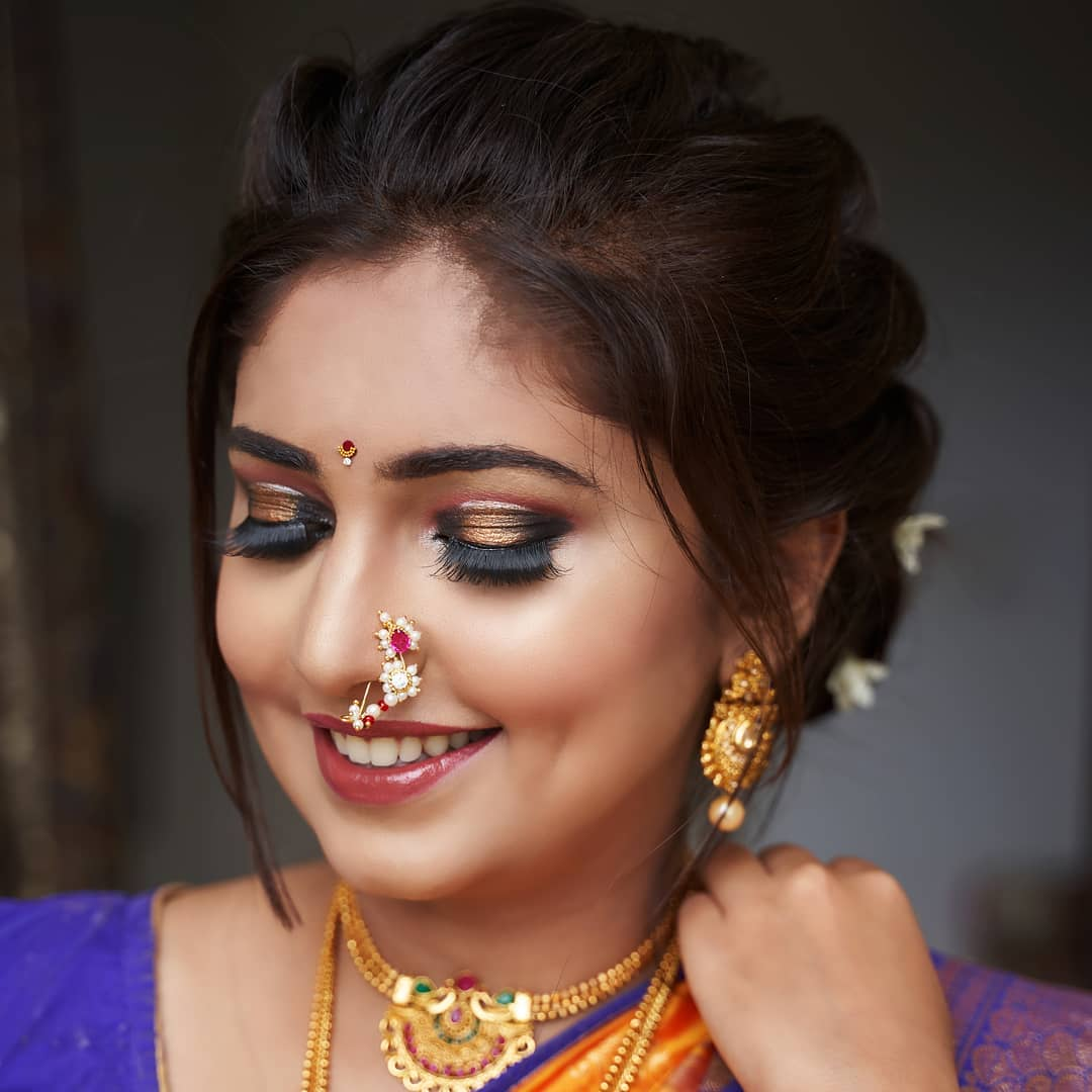 Marathi Bridal Eye Makeup