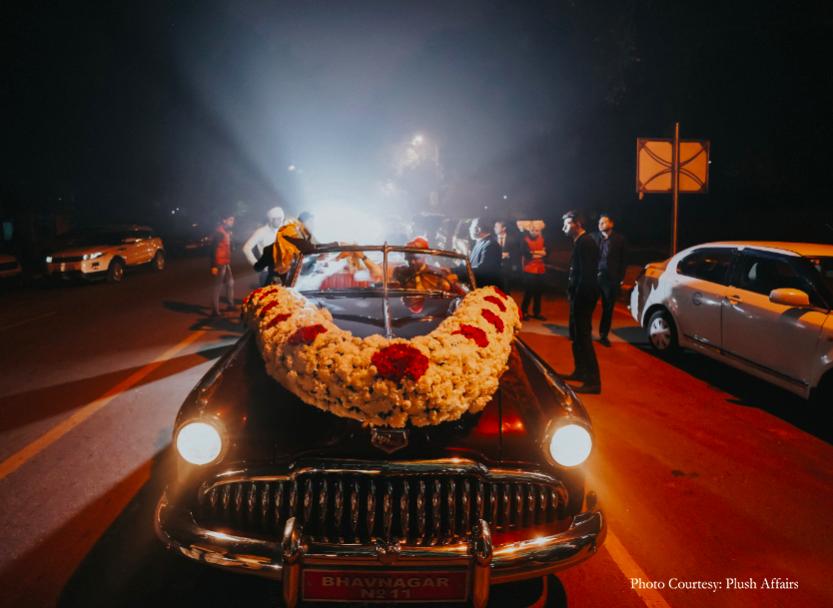 baraat vehicle options for groom