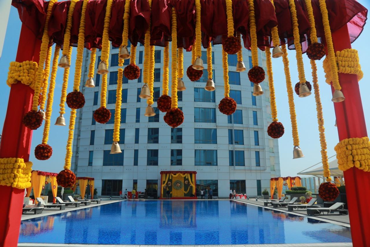bengali themed wedding decor