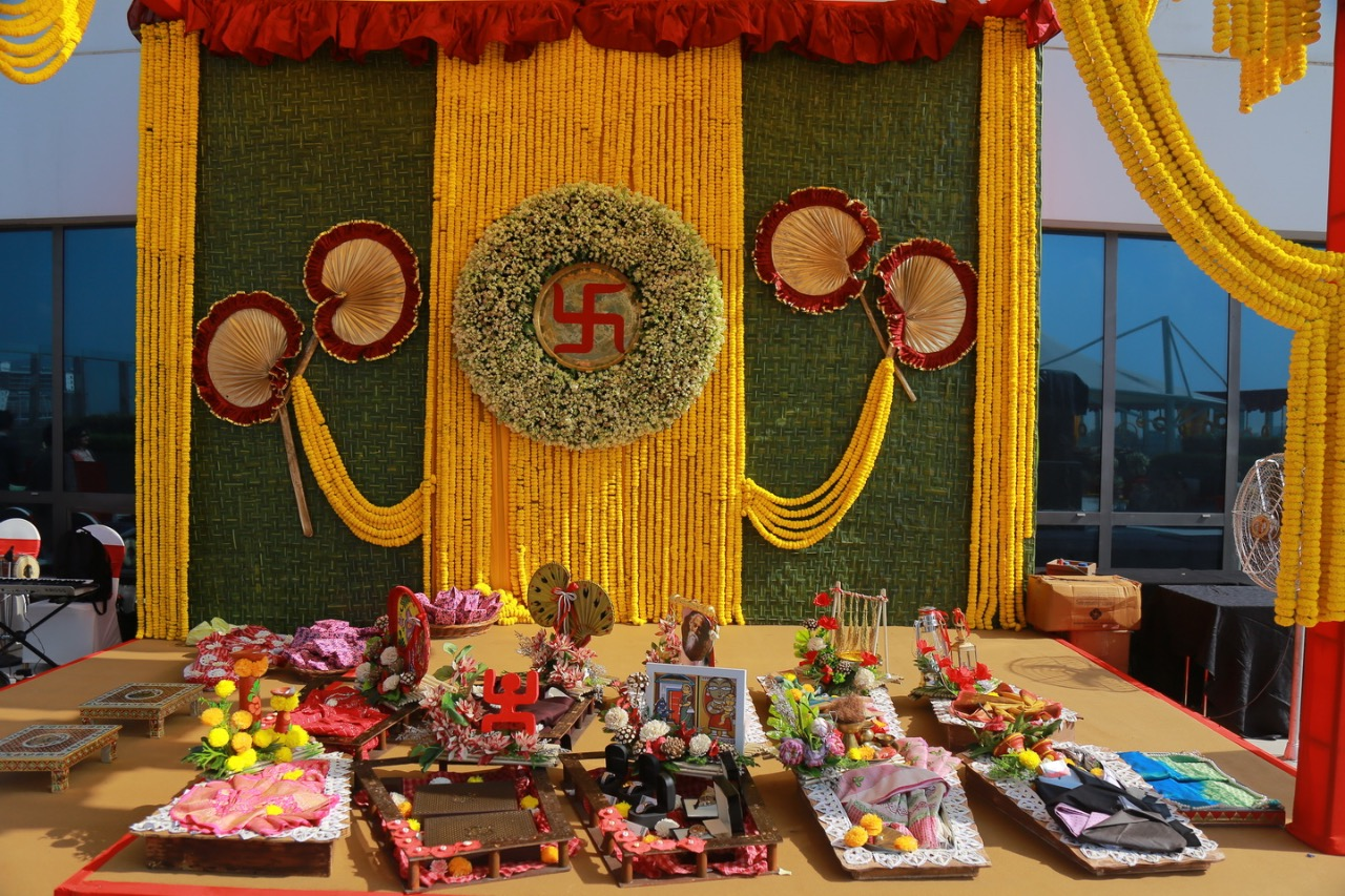 bengali themed wedding decorations