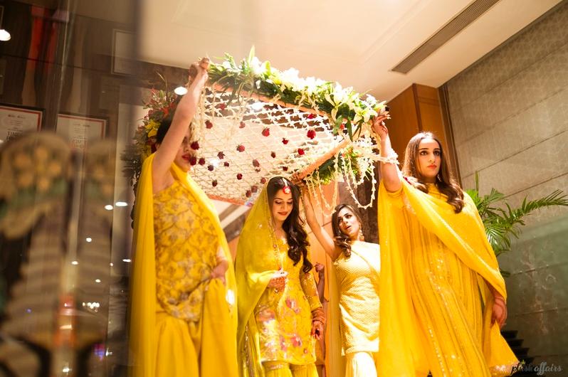 bridal entry ideas for wedding