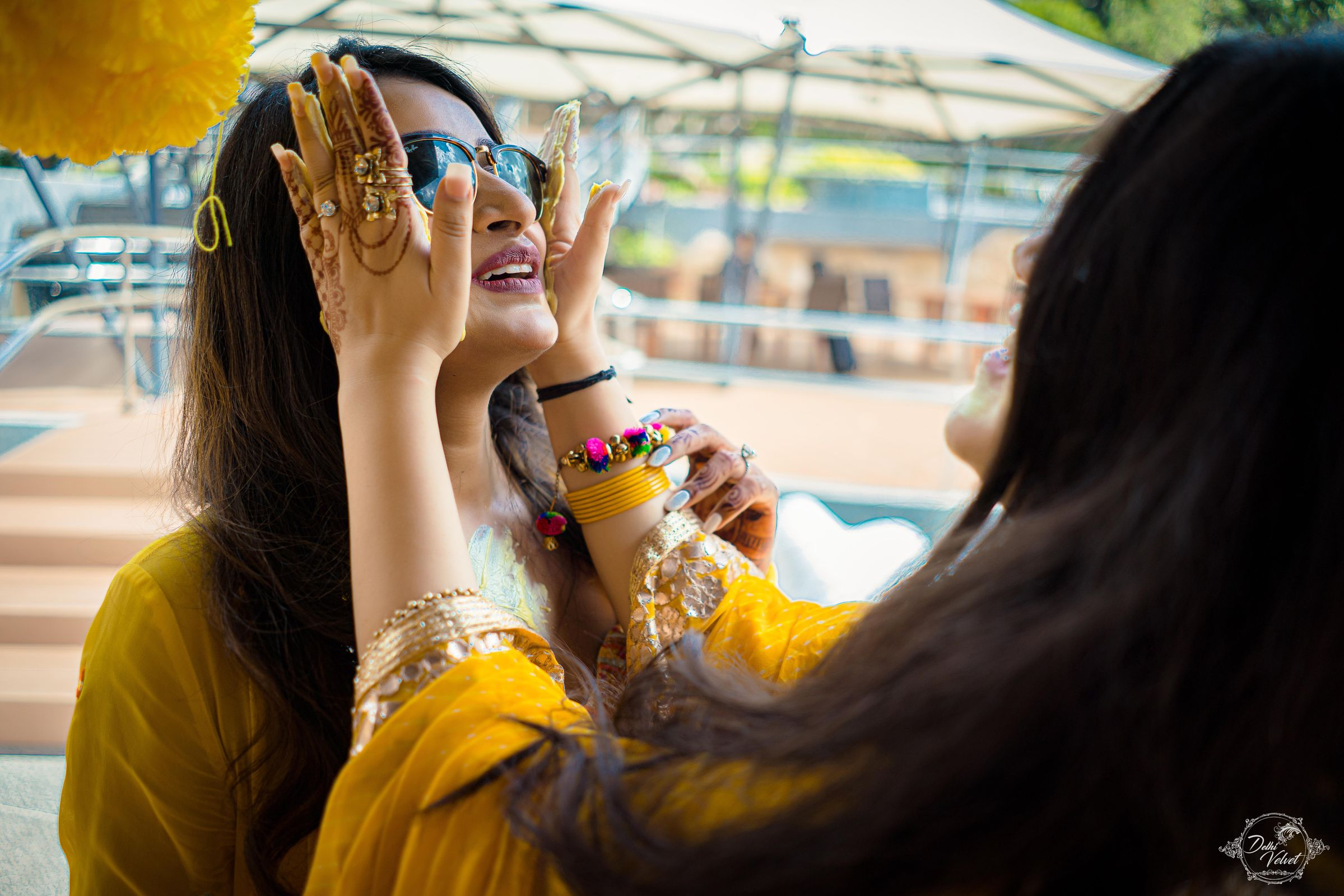 bridal look for haldi