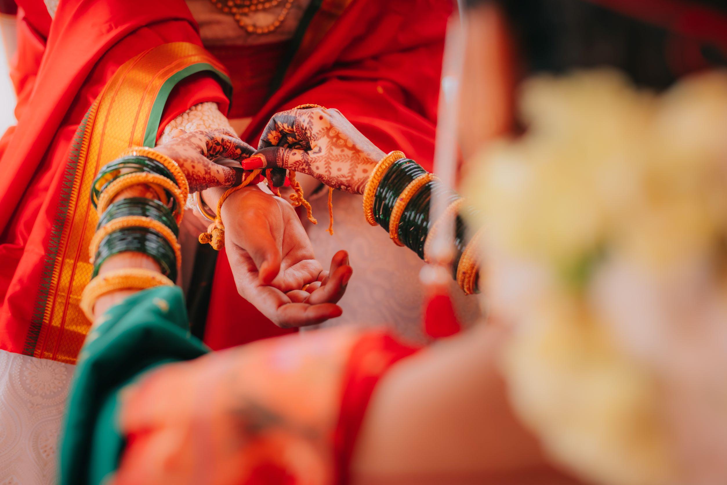 bridal mehendi and kangana