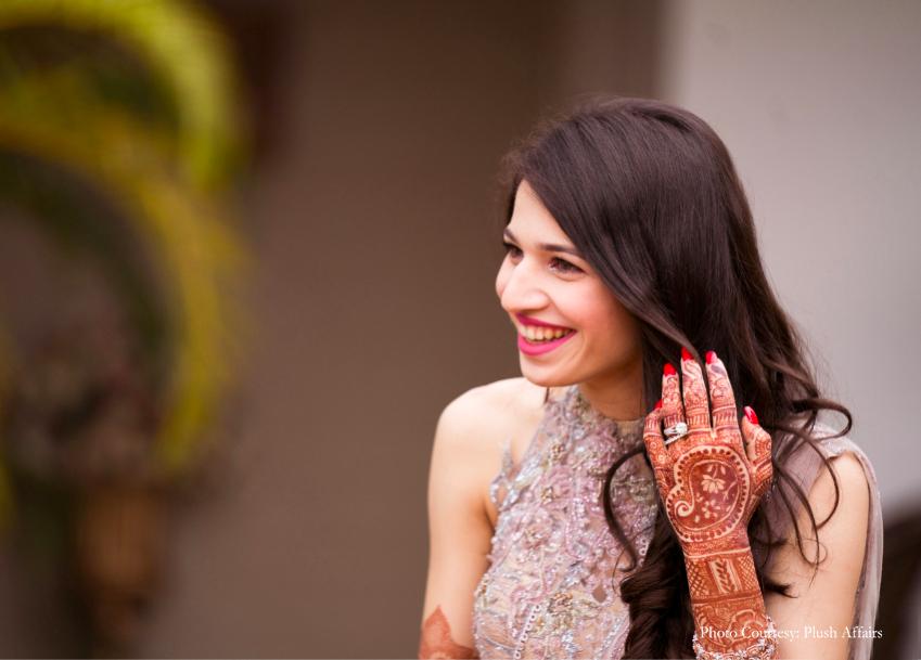bridal mehendi design image