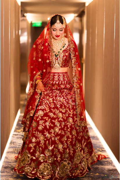 bridal wear lehenga designs by Manish Malhotra