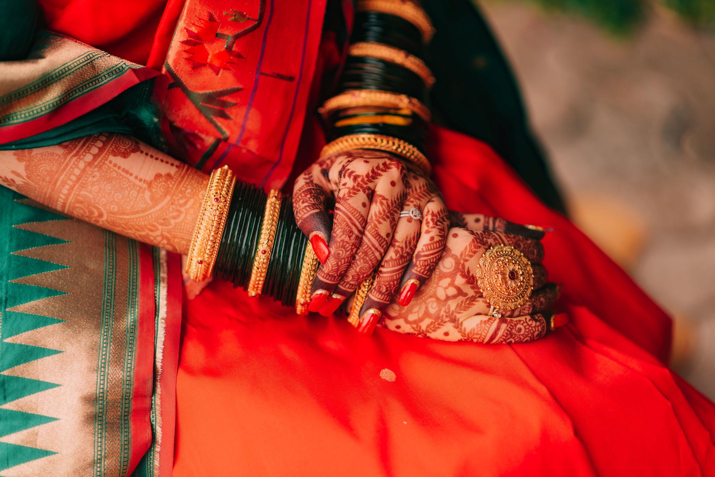 gorgeous bridal mehendi