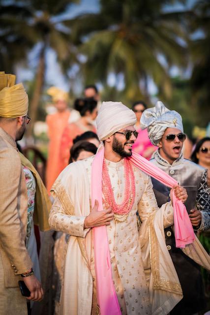 groom entry in indian wedding