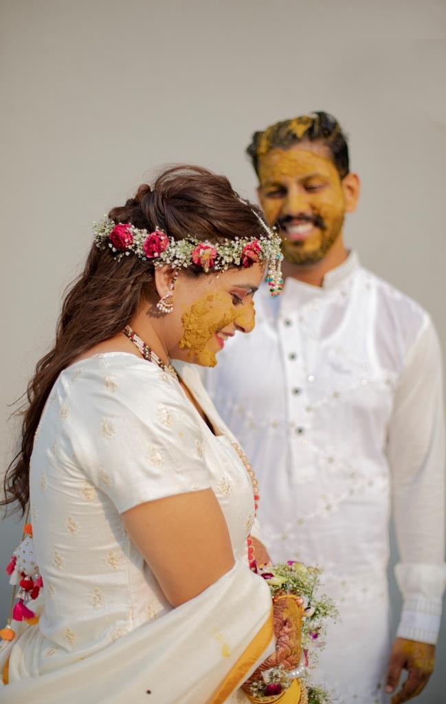 haldi ceremony images