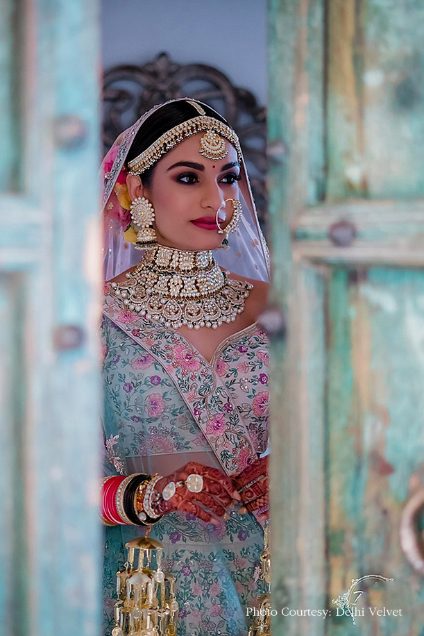 indian bridal wear jewellery