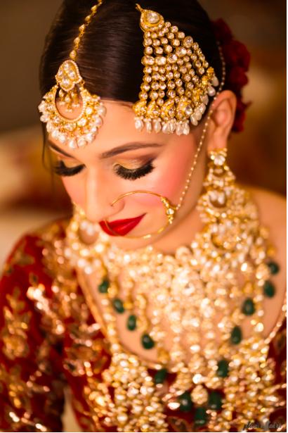 indian bridal wear jewellery