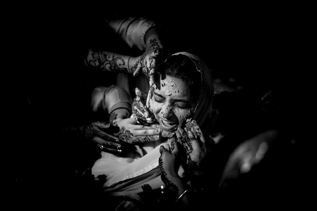 indian haldi ceremony