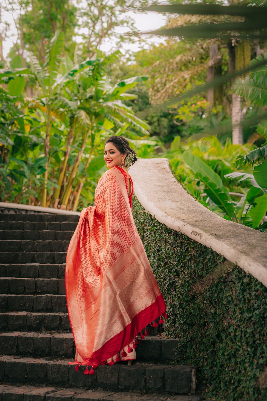 outdoor bridal shot