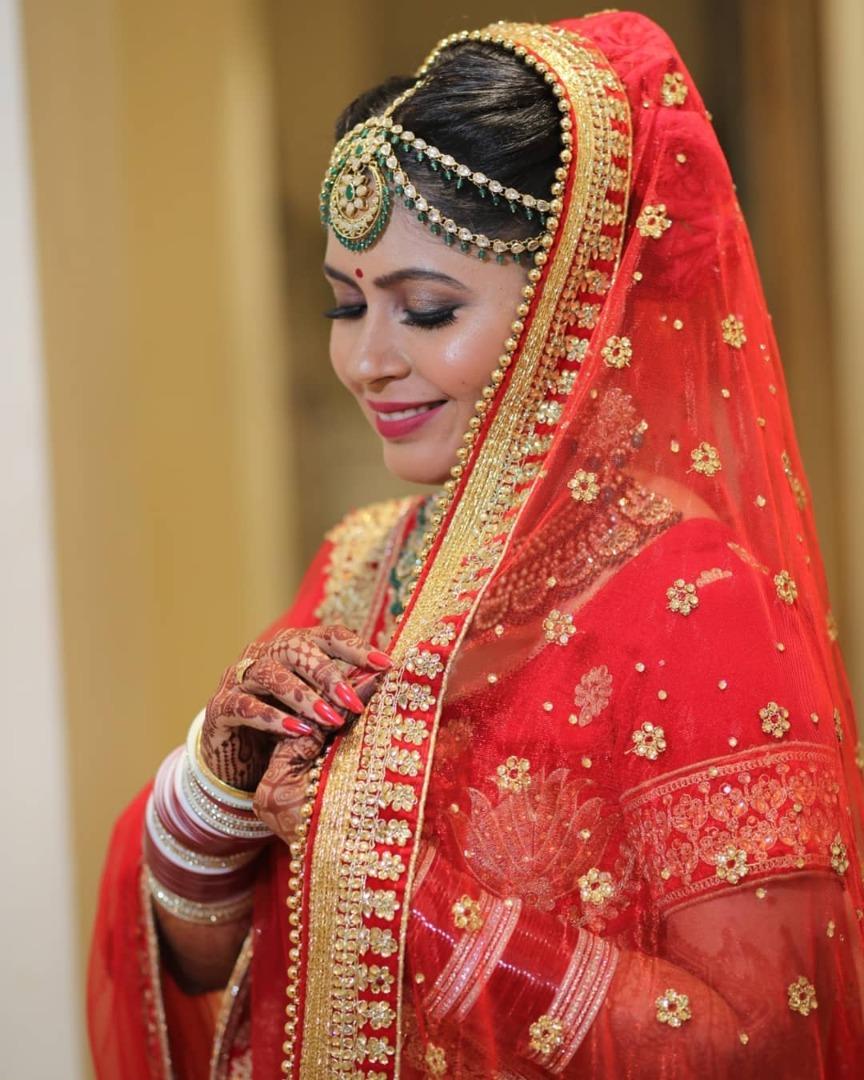 Red Bridal Choora