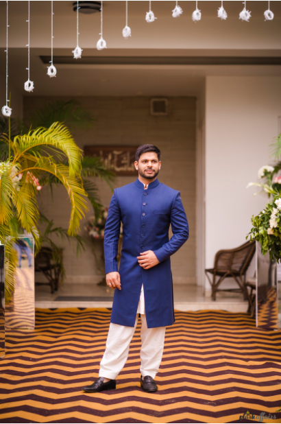 royal blue indian wedding outfits