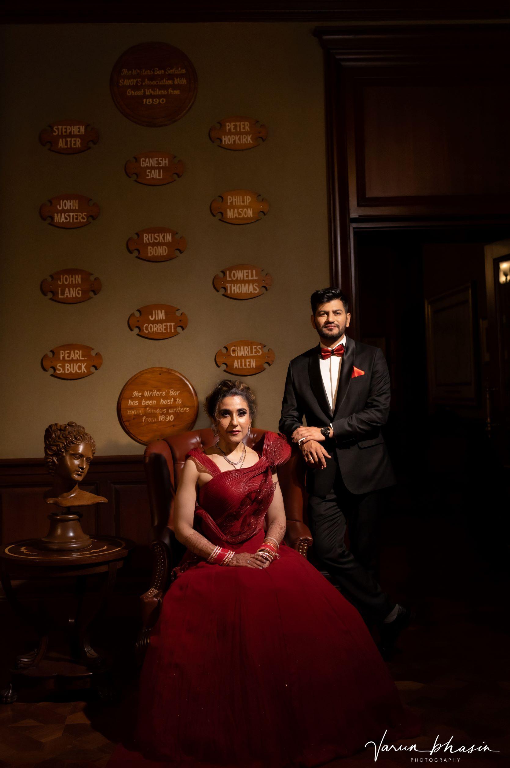 royal couple portrait