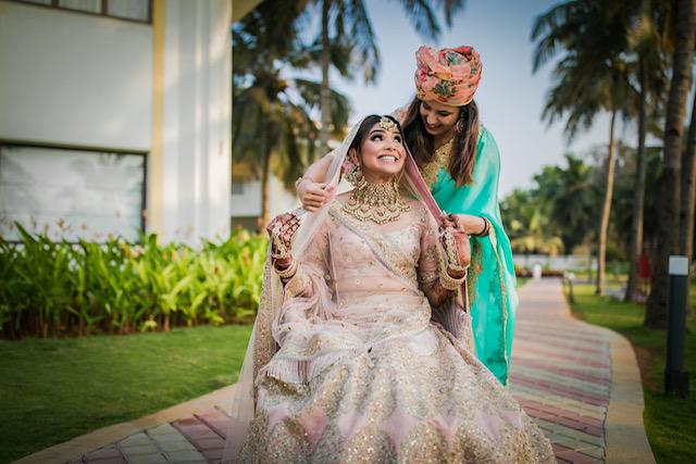 wedding dress for bride sister