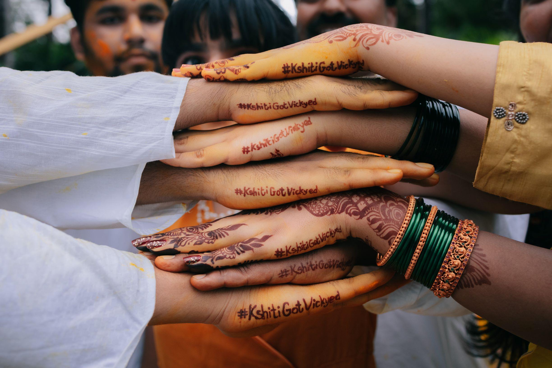 wedding hashtag as mehendi
